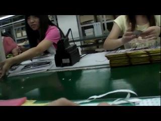 Как делают китайские планшеты за 50$ на заводе